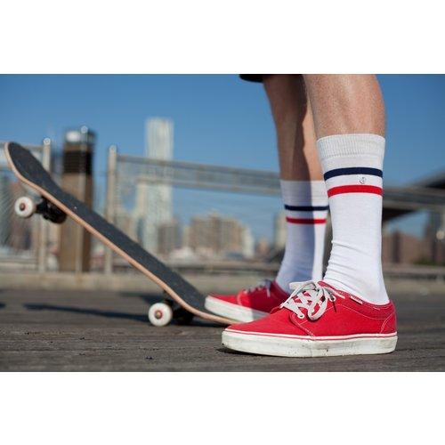 Alfredo Gonzales Sports White Z-Sock