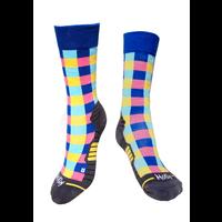 Colour Checkered Wandelsokken Molly Socks