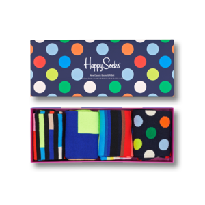 Happy Socks New Classic Socks Gift Set 4-Pack