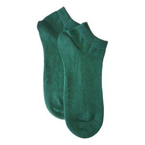 Kock Sockswear 2-pack naadloze sneakersokken heren groen