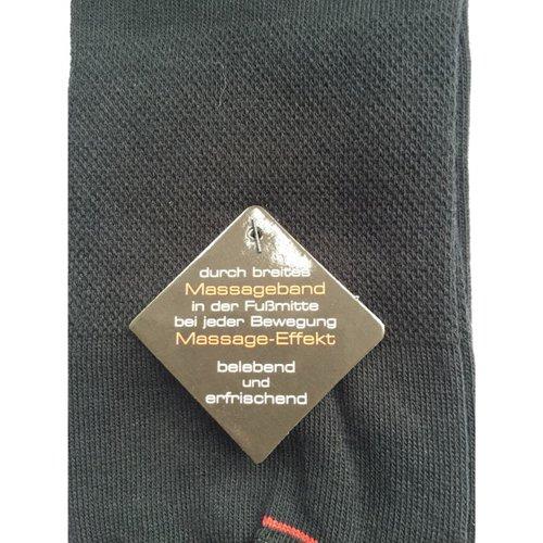 Kock Sockswear 2-pack grijze naadloze sokken met massage-effect