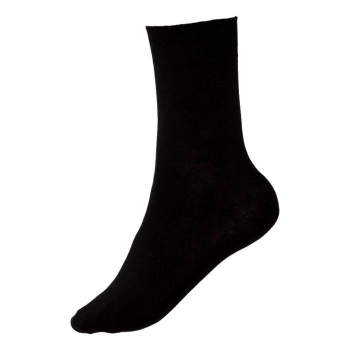 Kock Sockswear Dunne Naadloze herensokken Zwart