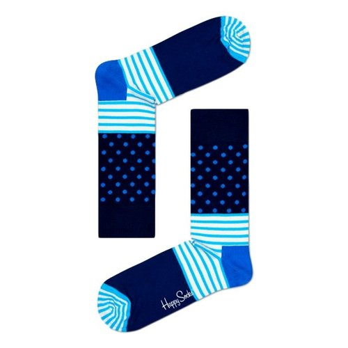 Happy Socks Sokken met strepen en stippen