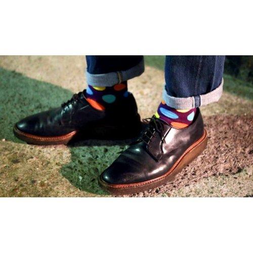 Happy Socks Sokken met grote stippen
