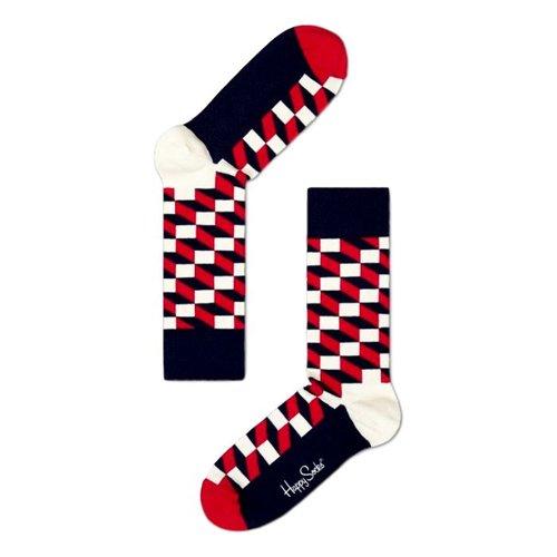 Happy Socks Filled Optic rood
