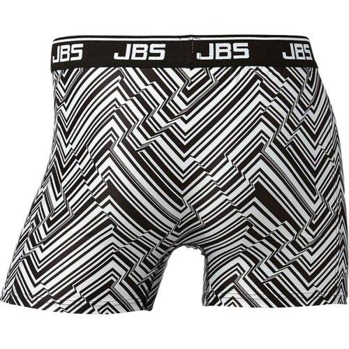 JBS Boxershort van JBS, zwart-wit met zigzag dessin