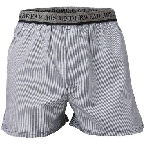 JBS Boxershort van JBS, wit en grijs gestreept