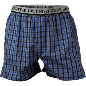 JBS Boxershort blauw geruit