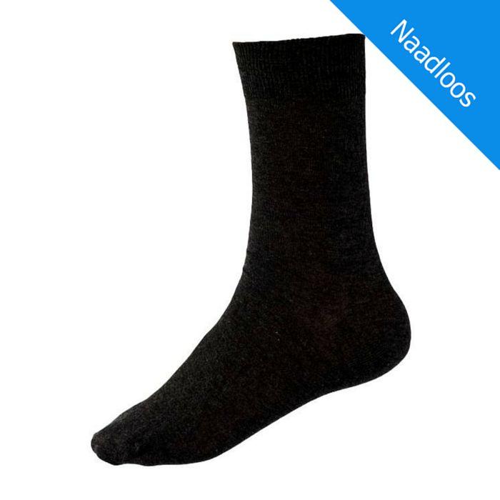 Kock Sockswear Dunne Naadloze herensokken Grijs