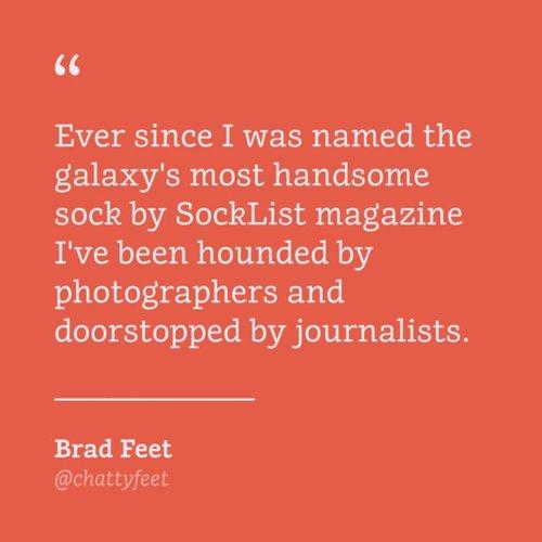 ChattyFeet Brad Feet
