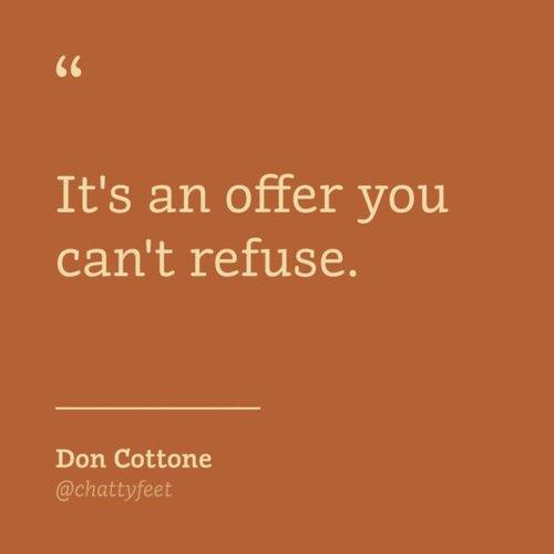 ChattyFeet Don Cottone