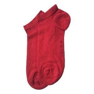 Kock Sockswear 2-pack naadloze sneakersokken heren rood