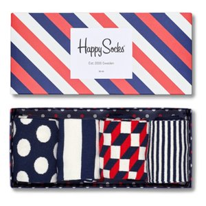 Happy Socks Big Dot Gift Box blauw