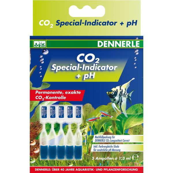 Dennerle CO2 Special Indicator + pH, permanente, direkte CO2 Messung