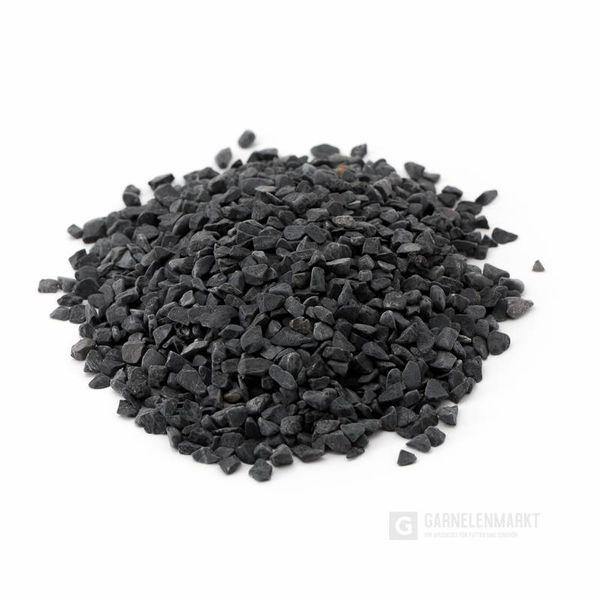 Garnelenmarkt Aquarienkies schwarz, 5kg