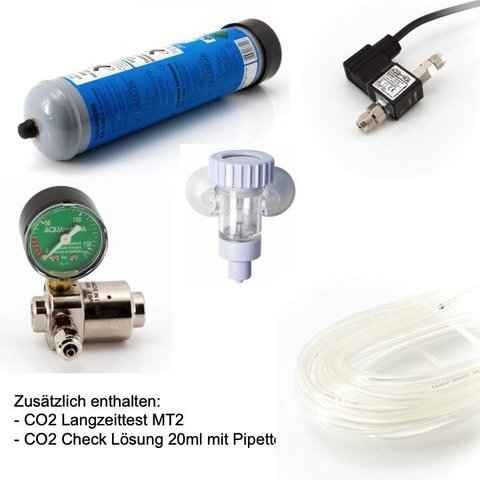 CO2 Dünge-Anlage Einweg 600g Basic M