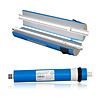 Hobby Osmoseanlage / Wasserfilter - 190 bis 750 Liter - 3 stufig