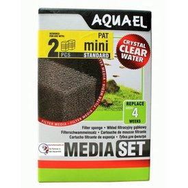 Aquael Filterschwamm für Pat Mini Innenfilter Doppel Pack 2 Stück