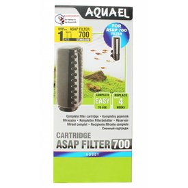Aquael Filterschwamm mit Filterkammer für ASAP Filter 700