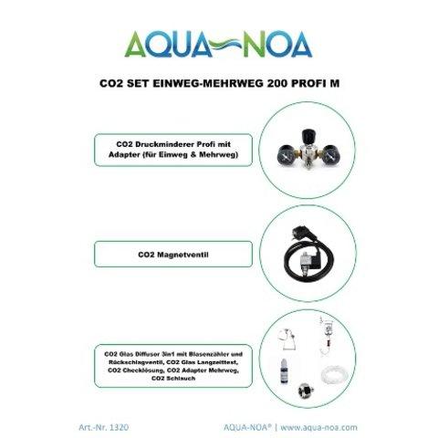 CO₂ Set Einweg&Mehrweg 200 Profi M