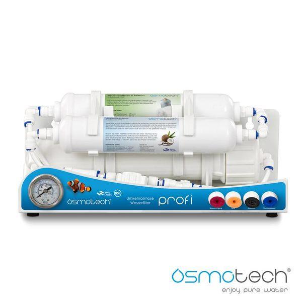 Osmotech Profi Osmoseanlage / Wasserfilter - 190 bis 570 Liter - 3 stufig