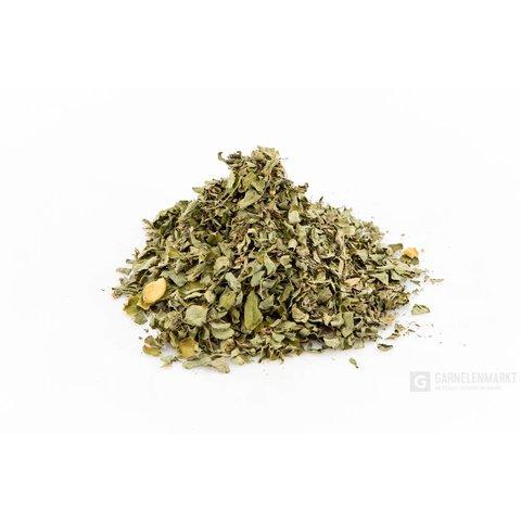 Moringa Olifeira Laub grün getrocknet