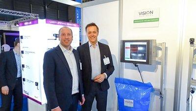 Vision Partners biedt in-line systemen voor snelle en betrouwbare inspectie met  gebruik van warmtebeeld