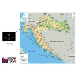 Kabola Kabola Malvazija 2017 biologisch wit