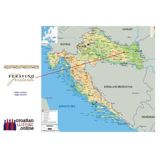 Feravino Bronzen medaille: Premium kwaliteit Feravino Miraz Frankovka