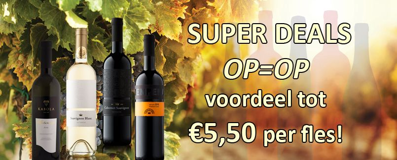 Februari SUPER DEALS, enorme kortingen