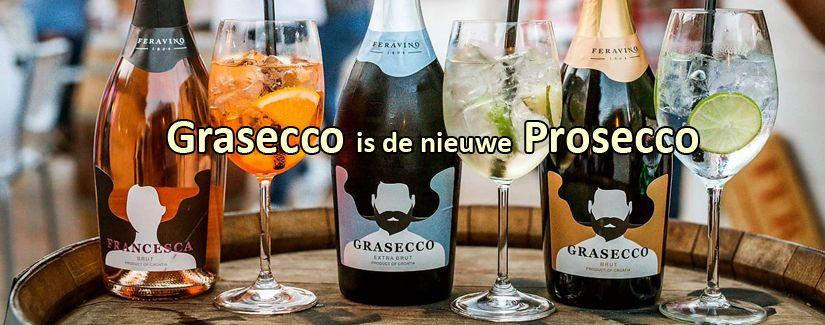 Grasecco en Francesca, het Kroatische antwoord op Prosecco, perfect voor de feestdagen