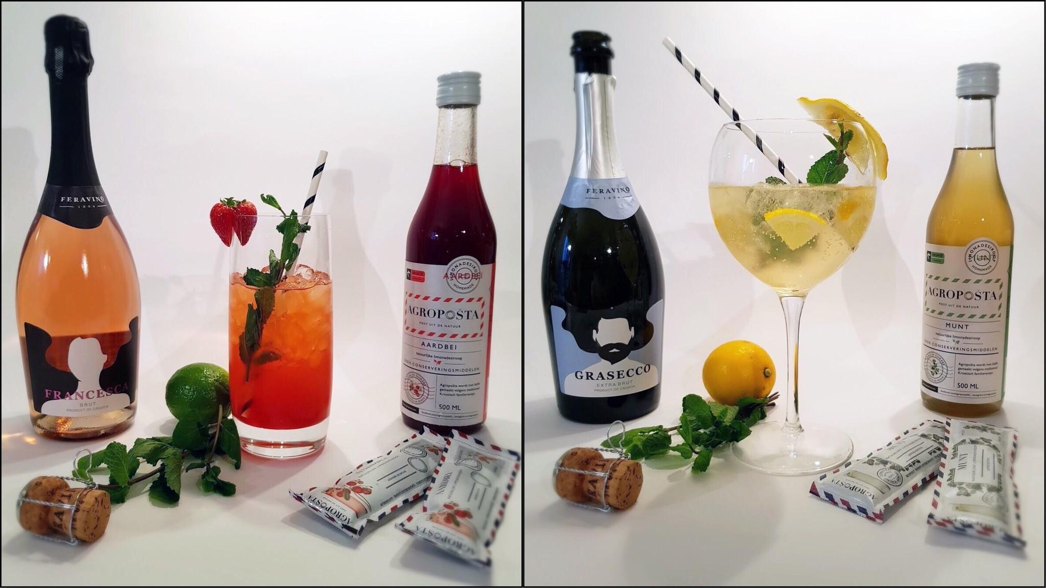Nieuw: Croatian Sparkling Wine Cocktail sets