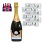 Croatianwine Online Box Croatian sparkling wine cocktail set Dry Mister Moustache