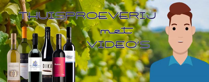 NIEUW: Kroatische wijnproeverij voor thuis met digitale sommelier