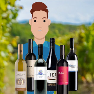Tasting box: Wine tour through Croatia with video sommelier