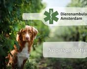 Sponsoractie Dierenambulance Amsterdam