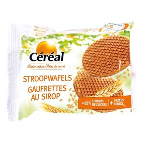 Cereal Syrup Waffles (low sugar)