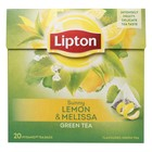 Lipton Green Tea Sunny Lemon Melissa
