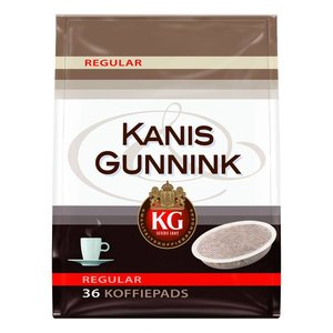Kanis & Gunnik Coffee Pads Regular