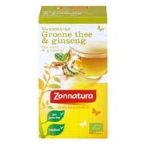 Zonnatura Verkwikkend groene thee & ginseng