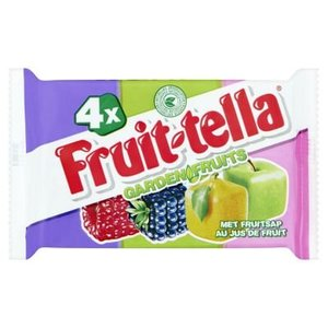 Fruittella Garden fruits 4 stuks