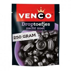 Venco Droptoefjes zacht zoet