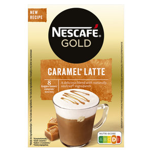 Nescafé Gold Latte caramel