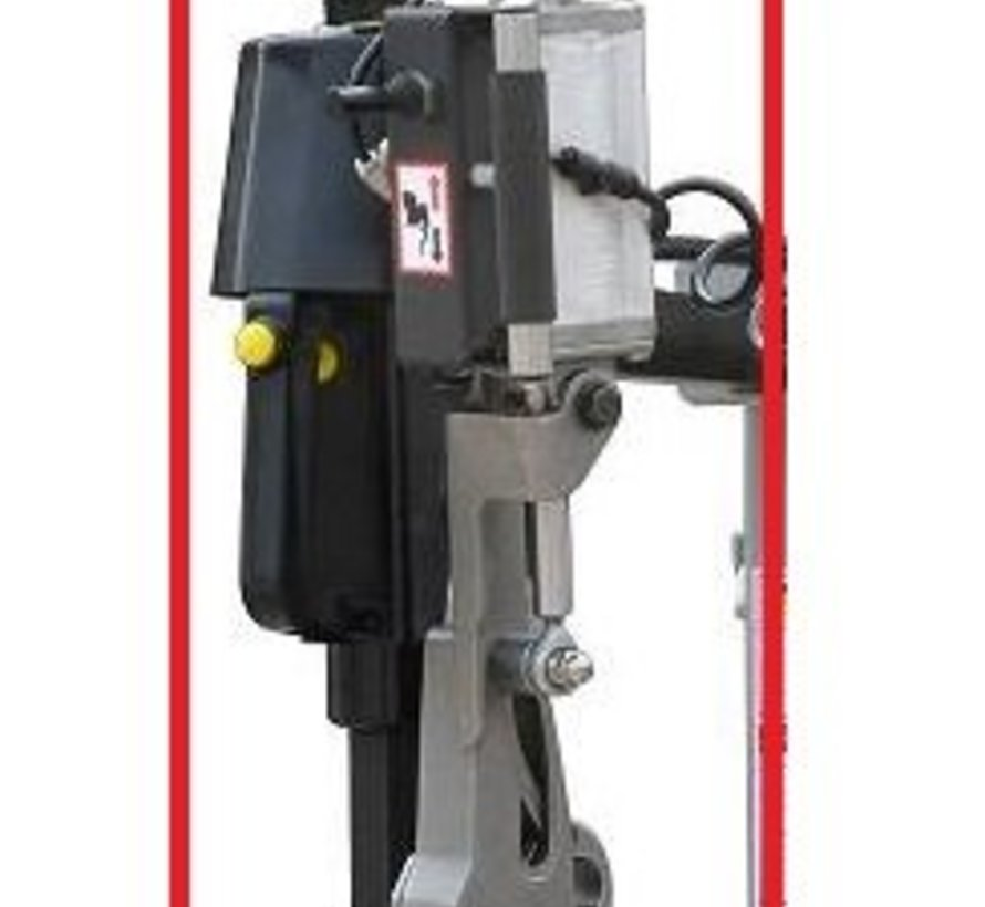Leverless system for tire machine