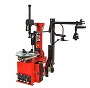 Big Red Tire dismantling machine with auxiliary arm