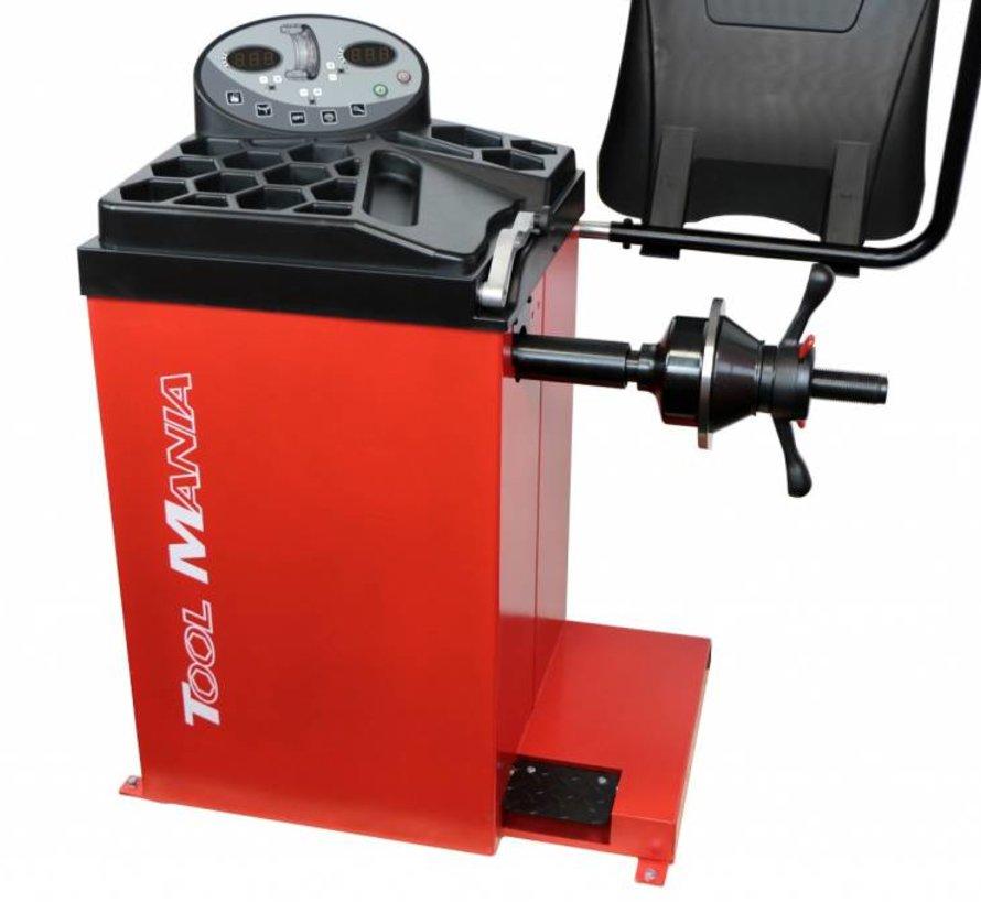 TM Profi Balanceermachine 10-24 inch met voetrem