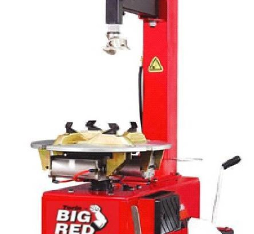 Big Red Tire disassembly machine