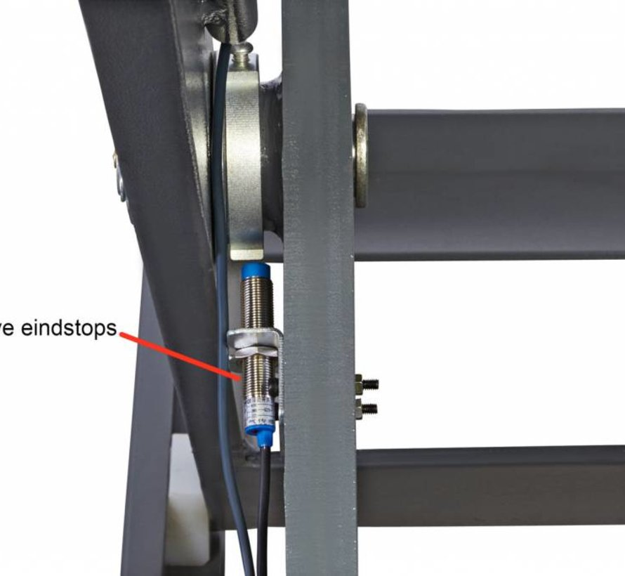 TM Profi Schaarbrug Doppelkonstruktion 3,0 Tonnen 220 - 230 V.