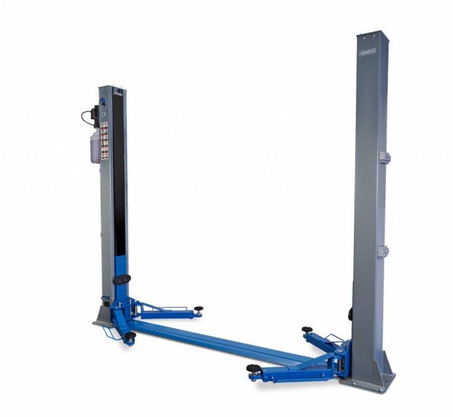 2 column hydraulic lifting bridge 4 ton Fully automatic 230V