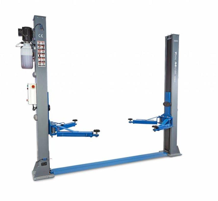 TM 2 Koloms hydraulische Hefbrug 4 ton Volautomatisch 230V